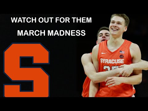 The syracuse orange could be the biggest bracket buster in the 2021 ncaa march madness tournament!!