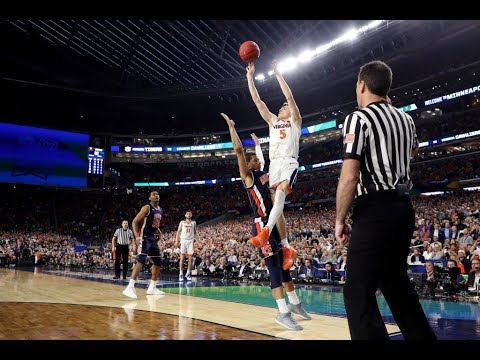 Final four: final 5 minutes of virginia's nail-biting win over auburn
