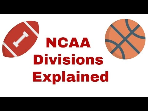 Ncaa divisions explained (d1, 2, and 3 scholarship money)