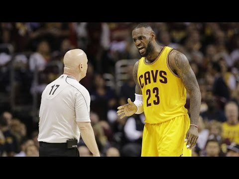 """Lebron yells at referee over foul: """"call that sh*t the first time, motherf***er!"""""""