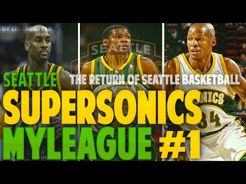 The start of a new dynasty!! nba 2k17 seattle sonics expansion mygm #1