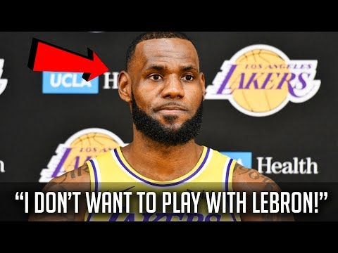 Why nba stars don't want to play with lebron james!