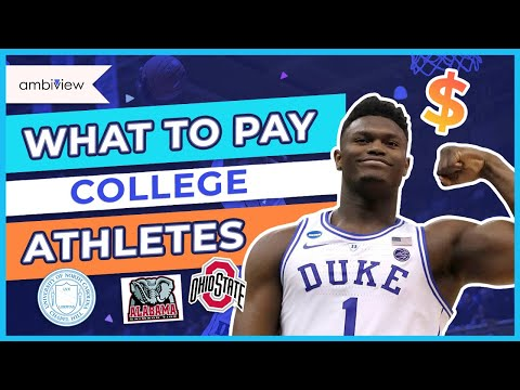 How much should college athletes be paid? 🏆