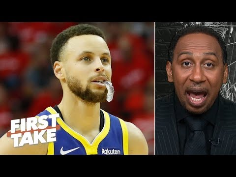 'that's not steph curry' – stephen a. on warriors' 2-game losing streak | first take