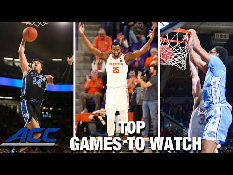 2020-21 acc basketball schedule: top games to watch