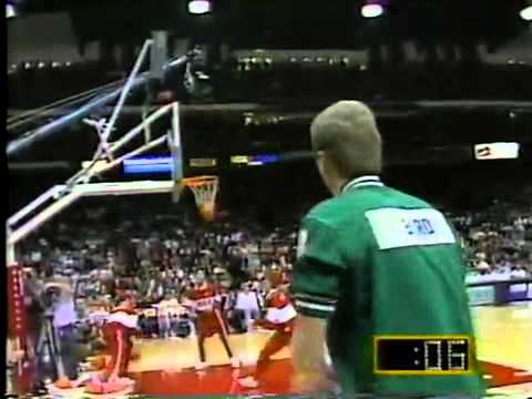 Larry bird's legendary moment in the three point shootout