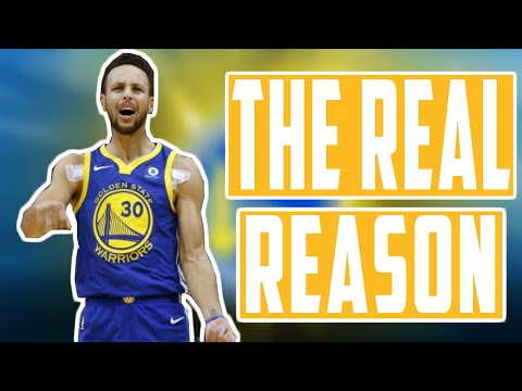 The real reason steph curry isn't playing!!