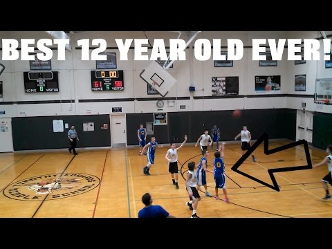 The best 12 year old basketball player ever!?