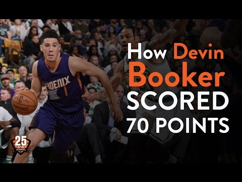 How devin booker scored 70 points   pgc basketball   game time