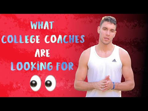 What college basketball coaches are looking for (how to get recruited)