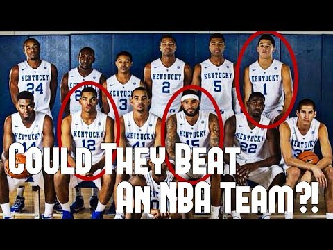 The college team that could have beaten an nba team