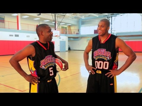Play basketball with the harlem wizards | basketball