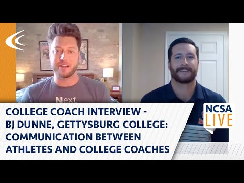 Coach interview: communication between athletes and college coaches