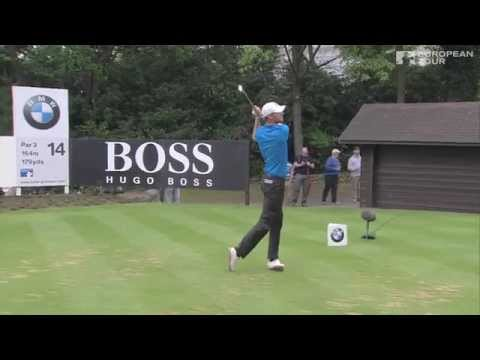 Chris wood's hole in one - bmw pga championship day 4