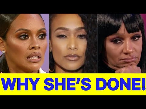 Tami roman quits basketball wives - the truth revealed about why she's finished with the show!?