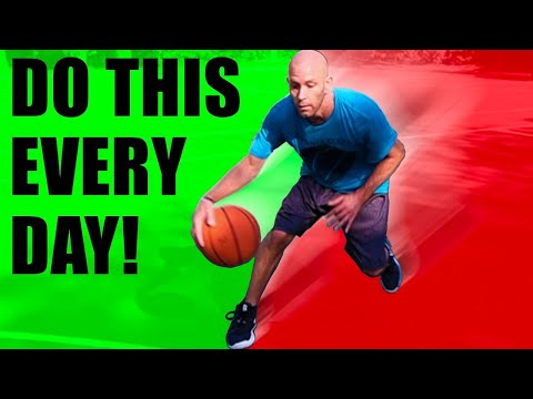 Why you should practice freestyle dribbling! how to dribble a basketball better drills!