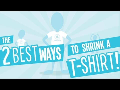 How to shrink your t-shirt with and without a dryer